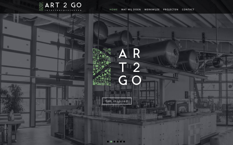 Studio29elf | Nieuwe responsive website voor Art2Go Interieurprojecten