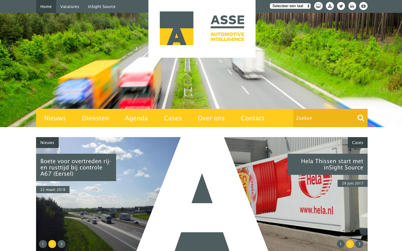 Studio29elf | Nieuwe website van Asse BV
